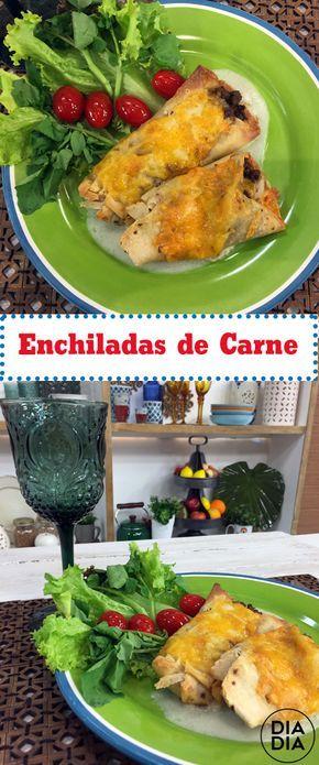 Enchiladas de Carne
