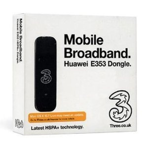 Review Three Huawei E353 1GB USB Mobile Broadband Modem with Latest Dongle Technology (HSPA+) - HUAWEI BEST REVIEW
