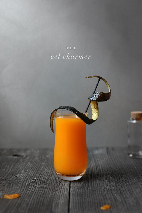 Horror Inspired Movie Cocktail for Your Halloween Party - The Eel Charmer Cocktail Recipe