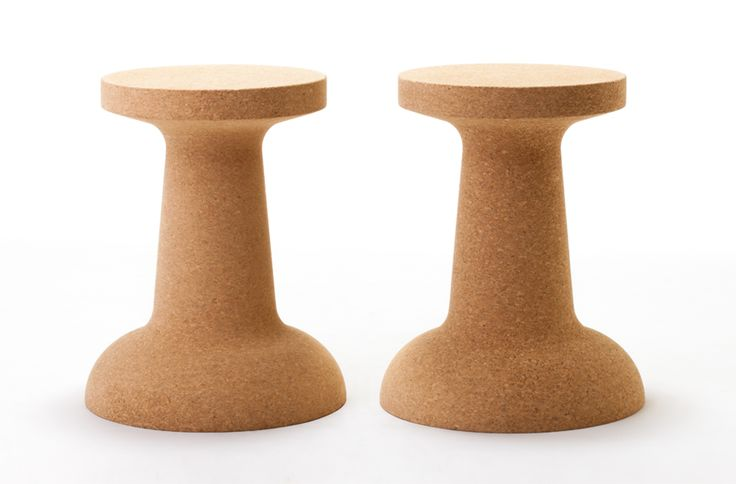 'Push Pin' stool + side table by Cooima.
