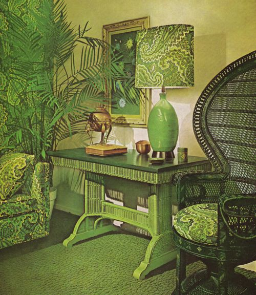 I warned you why the 1970's interior design was eye-gougingly horrible, but not everyone has listened.