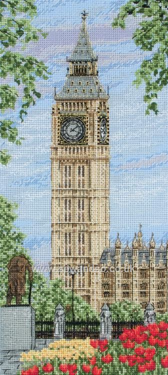 Westminster Clock  http://www.sewandso.co.uk/Products/Westminster-Clock-Cross-Stitch-Kit__ANC-PCE0803.aspx