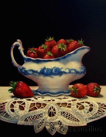 Cat Corcilius. Strawberries & Lace