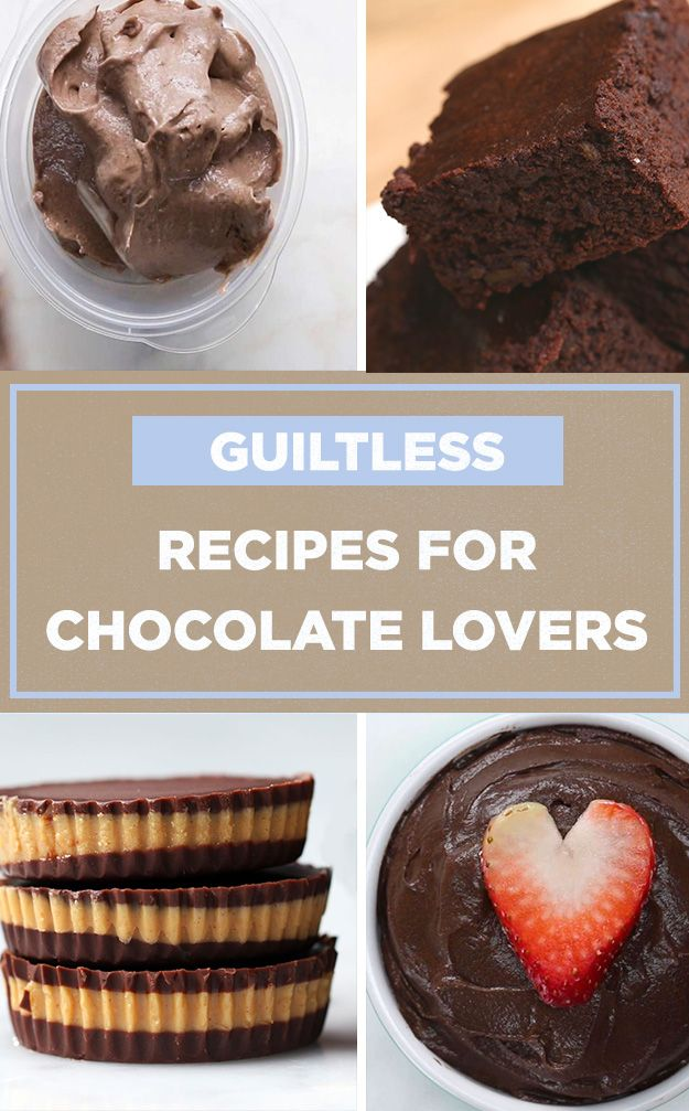 All Of The Chocolate Less Of The Guilt Healthy Sweet Snacks