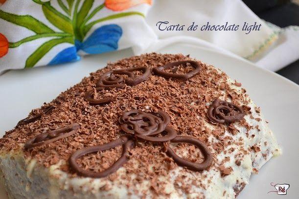 Tarta de chocolate Light Exprés | Cocinar en casa es facilisimo.com
