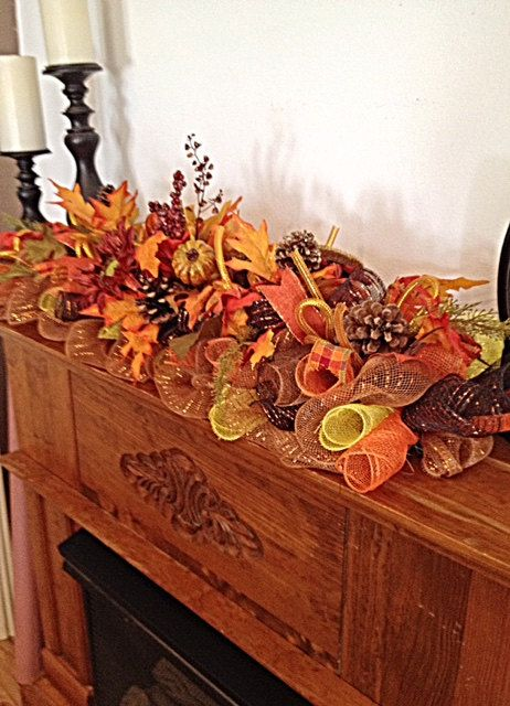 Fall Arrangement/Autumn Centerpiece/Fall by CKDazzlingDesign