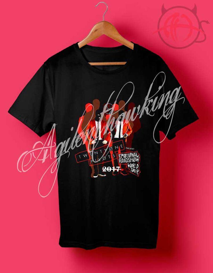 Twenty One Pilots Tour Dates 2017 T Shirt