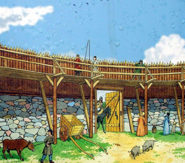 Aikani kuluksi : Skoftesta skans muinaislinnan rauniot