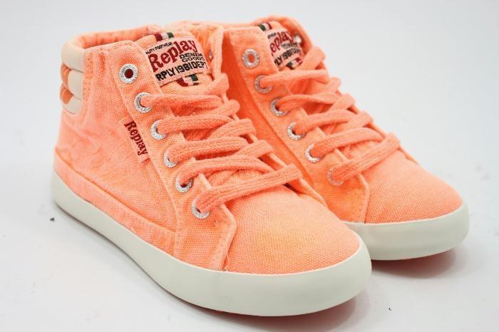 Replay schoen Orange