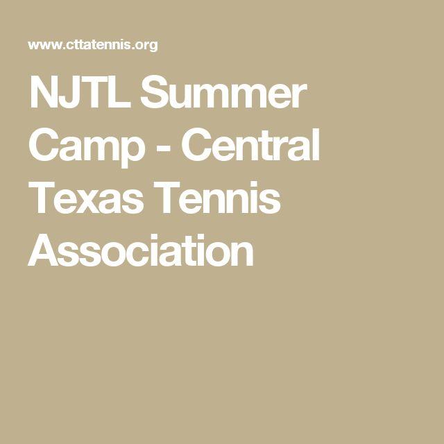 NJTL Summer Camp - Central Texas Tennis Association