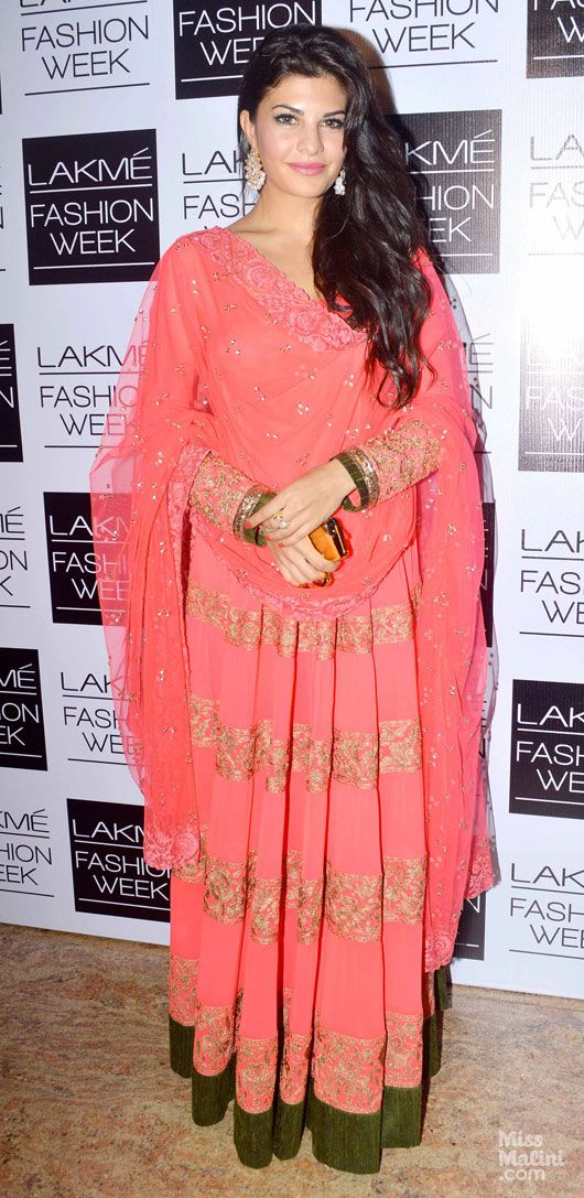 Jacqueline Fernandez in MM. Lakme Fashion Week 2013