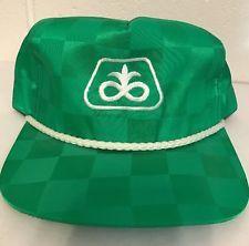 NEW Vintage PIONEER SEED Green Baseball Cap   K-Products Farmer Trucker Hat
