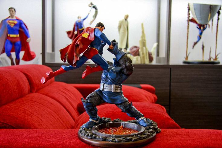 54 best images about Superman Figures/Statues i own on ...