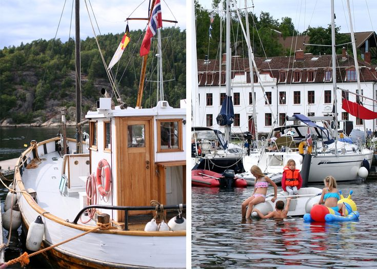 Tall Girl's Fashion // Visiting Oscarsborg Fortress, Drøbak, by boat Oslofjord