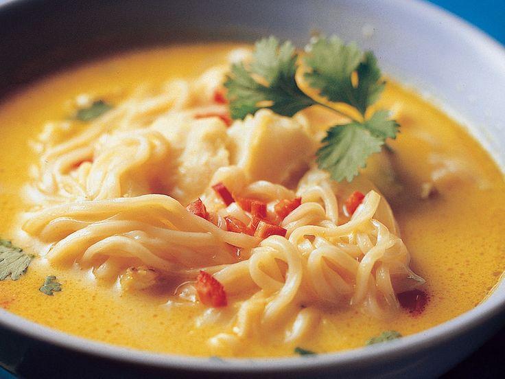 Aasialainen kalakeitto - Reseptit