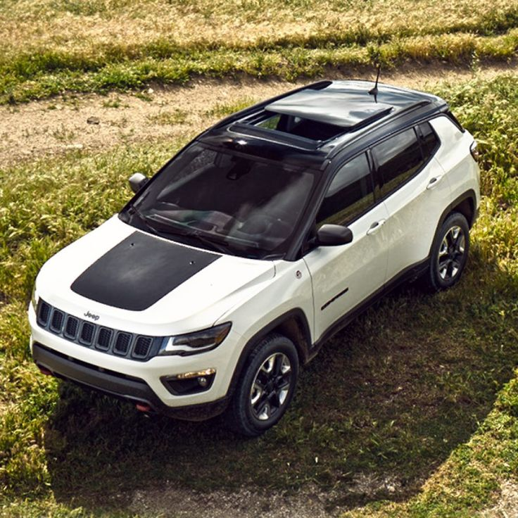 2018 Jeep Compass Trailhawk Two Tone Black Roof Jeep Trailhawk Jeep Cars Ford Mustang Car