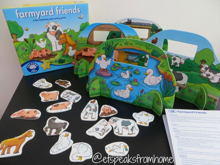 Orchard Toys Farmyard Friends Review - ET Speaks From Home