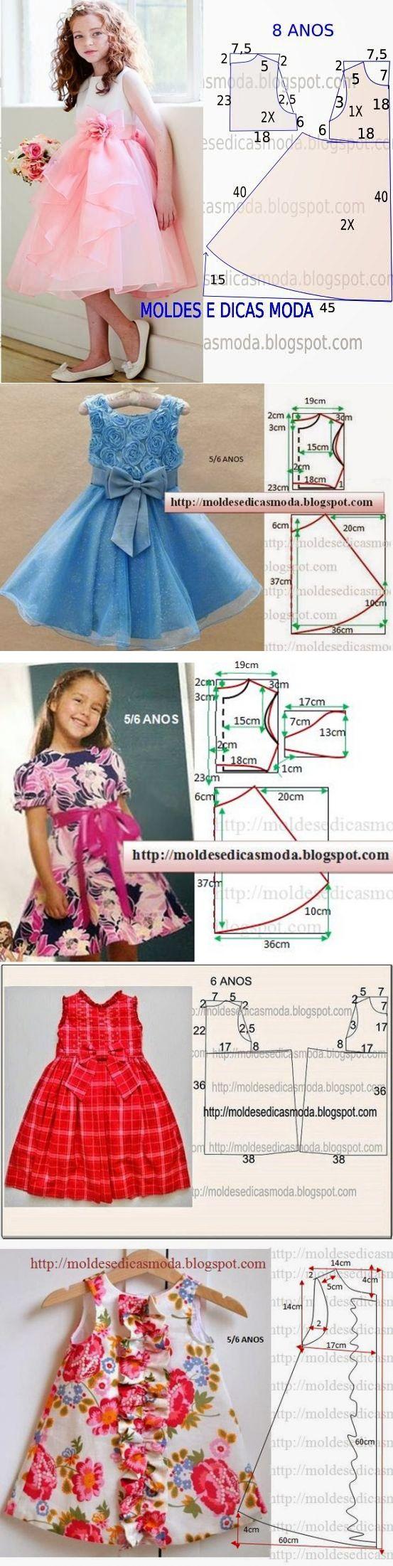 Шьем платья для девочек (5 фото)   WmnDay.ru - Handmade, фитнес, интерьеры