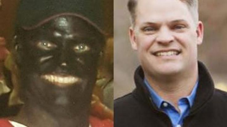 awesome This shocking photo shows a candidate for the Louisiana House in blackface dressed as Tiger Woods