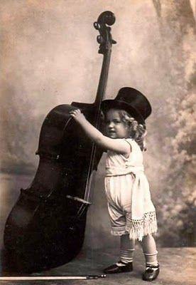 vintage music photo
