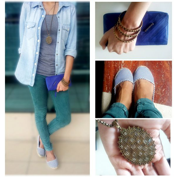 GIVE YOUR NEUTRAL TONES A MUCH NEEDED PICK UP WITH SOME PLAYFUL ACCESSORIES AND SOLID INDIGO. #FTBLOG