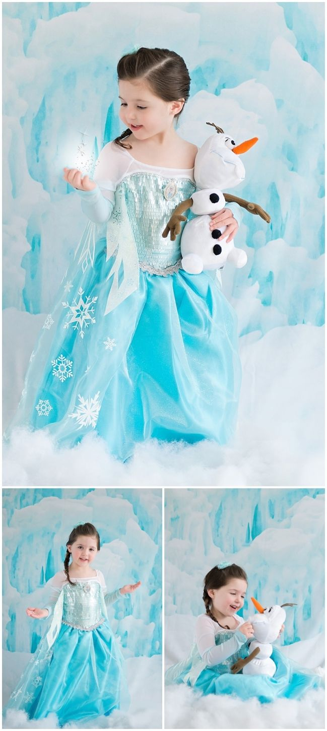 Adorable frozen pics by my friend Melissa at Melissa DeCastro photography. @Melissa Squires Squires DeCastro