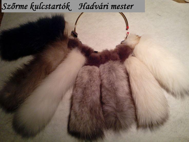 Szőrme kulcstartók ***************  Hadvári mester szűcs Fur keychain -Hadvári master furrier---------  1072 Budapest , Rakoczi ut 6 HUNGARY--- Facebook page:  https://www.facebook.com/hadvarisapka