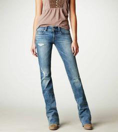 Jeanshosen Damen Regular Fit Jeans