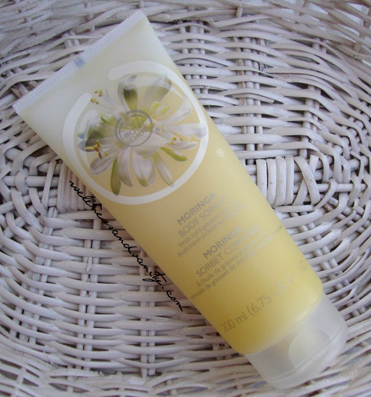 The Body Shop Moringa Body Sorbet Review | WELLNESS&VANITY