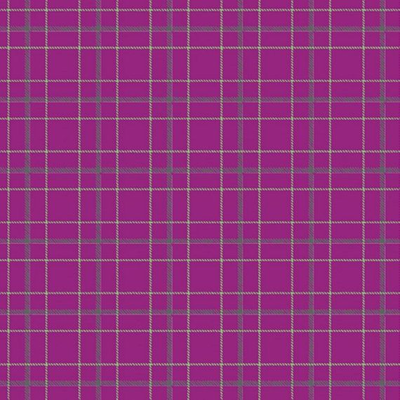 Contempo Warp and Weft Double Plaid Magenta