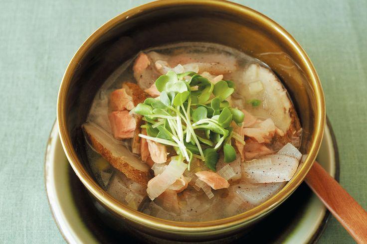 酢の酸味が軽い味わいのダイエットにもいいスープ。「ごぼうとこんにゃくは整腸作用が - Yahoo!ニュース(集英社ハピプラニュース)