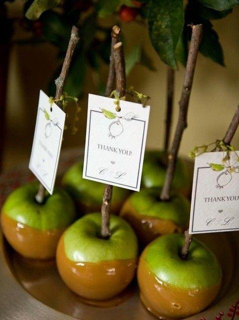 wedding favors fall wedding desserts fall desserts wedding favors