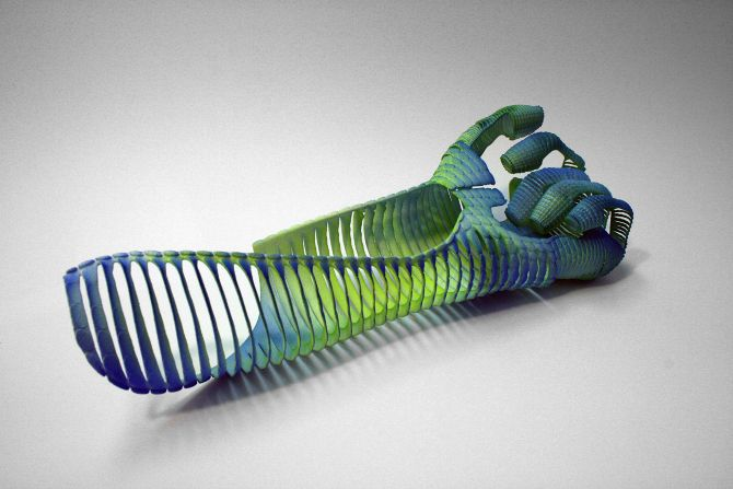 Emoto Glove - 3D printed high performance motorcycle gloves; Add Opportunity - Sotamaa Academia