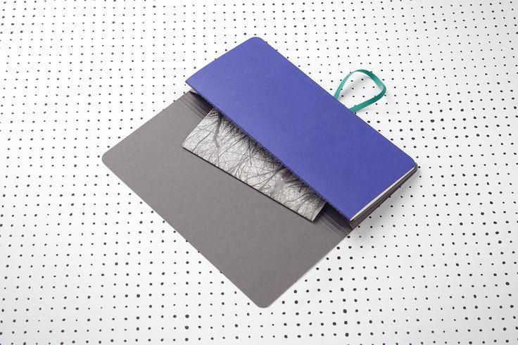 Mond (měsíční) / papelote - nové české papírnictví new czech stationery, Prague diary, journal, planner
