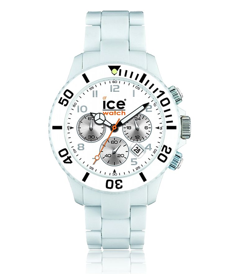 Montre ICE-WATCH CHRONO solid blanc - Ice Watch