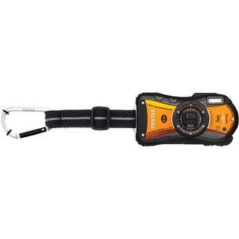 Pentax Optio WG-1 GPS Digital Camera (Orange) Water/Shock/Crush/Cold and Dust Proof