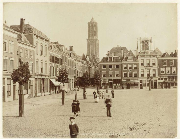 Neude en Domkerk te Utrecht, 1880-1900
