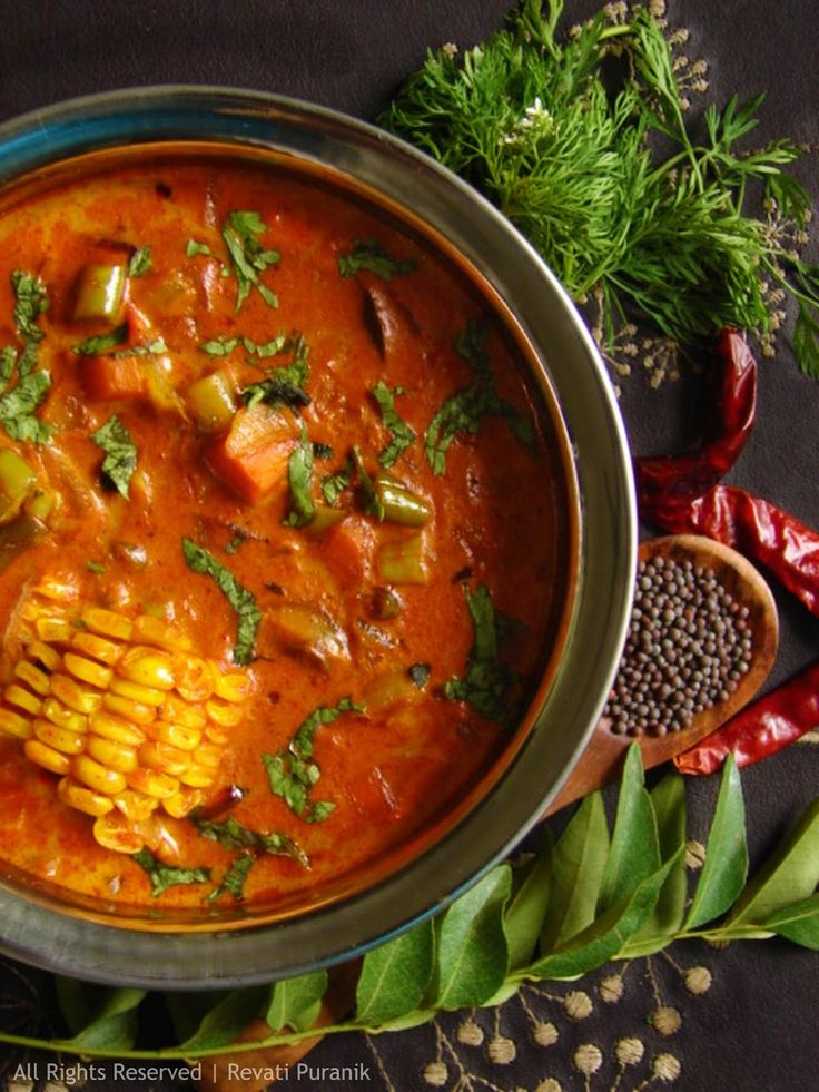 MALABARSTYLE VEGETABLE CURRY [India, Regional Malabar