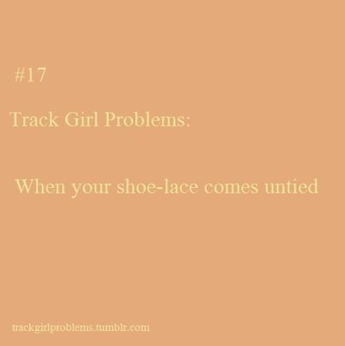 This happened to me twice the other day in practice, but I just kept on running because I knew I'd get in trouble if I didn't.