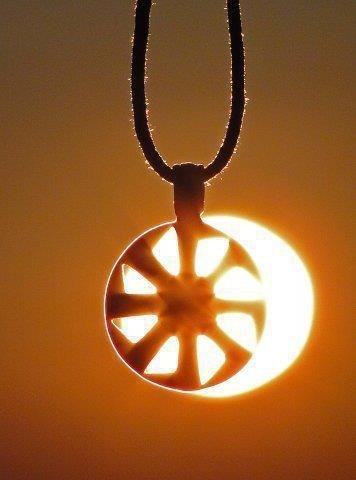"Slavic sun wheel - ""Kolovrat"" means ""spinning wheel"" in a number of Slavic…"