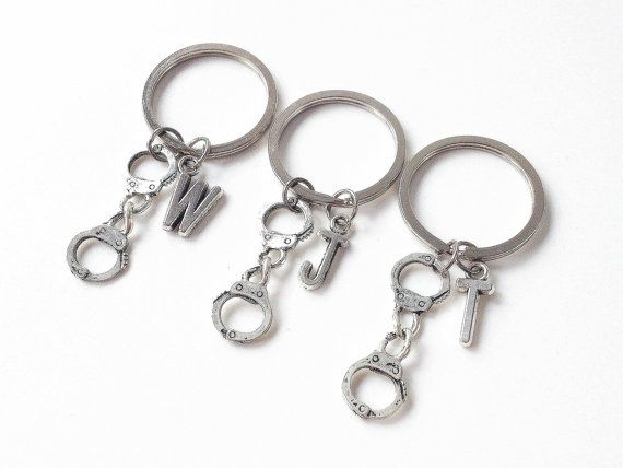 3 partners in crime keychain3 best friend keychain by cloudbb