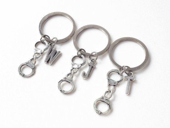 3 partners in crime keychain3 best friend keychain by cloudbb