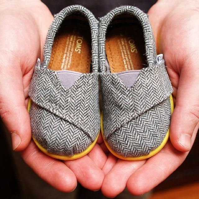 Baby Toms... I know it's ridiculous, but I want them. :)