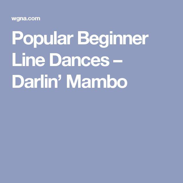 Popular Beginner Line Dances – Darlin' Mambo