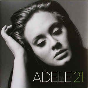 ADELE - 21-Sealed-New Record on Vinyl Track Listing - Rolling In The Deep…