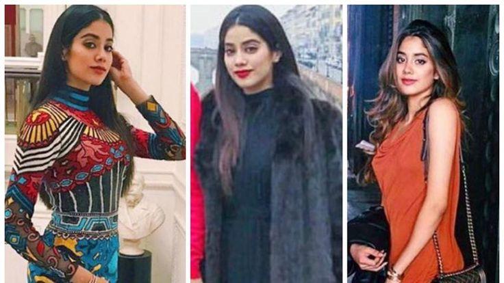 These pics of Sridevi's daughter Jhanvi prove she's a fashionista in the making http://cstu.io/7211a6