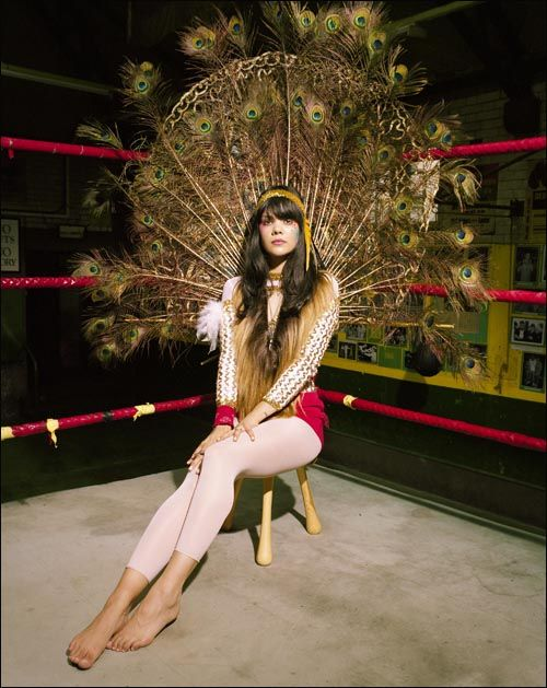 Bat For Lashes, or Natasha Khan, was born October 25th.