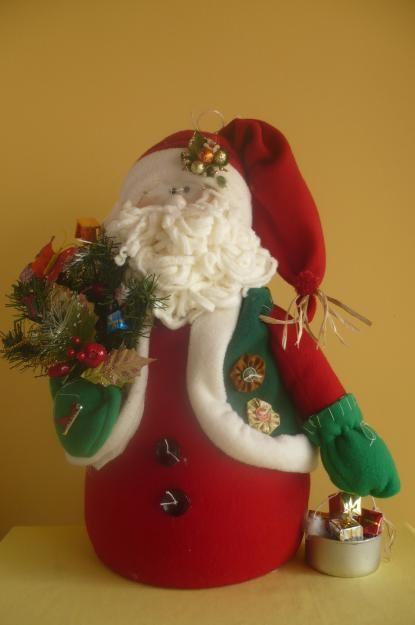 .santa doll christmas