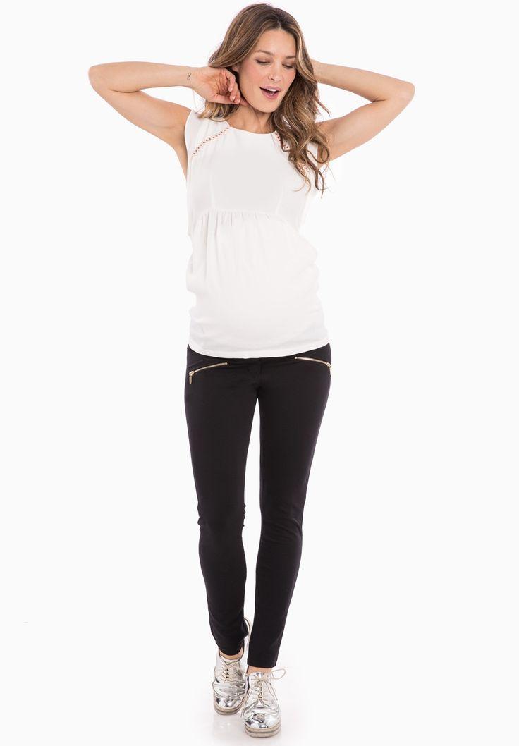 ZIPPY - Legging grossesse - Envie de Fraise
