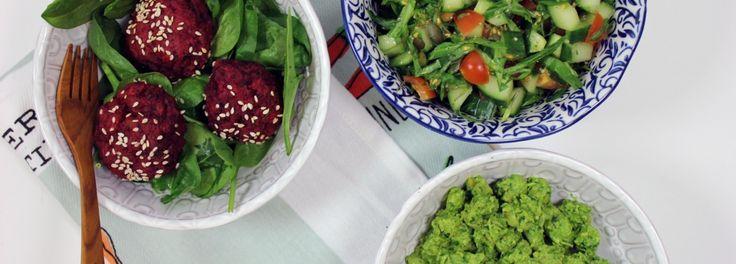 Beetroot falafel - The Detox Kitchen
